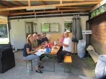 30.5.2015 Überdachung der Schießlinie